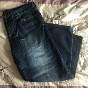 Luck brand jean capris size 10